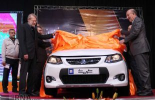 Iranian-made car 'Quick'