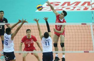 Iran-Thailand Volleyball match