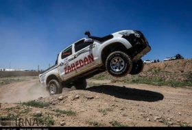 Intl. off-road competitions in Qazvin
