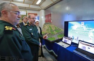 Iran unveils new military geography projects