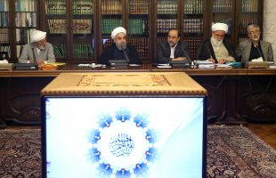 Rouhani at Supreme Council of Cultural Revolution session