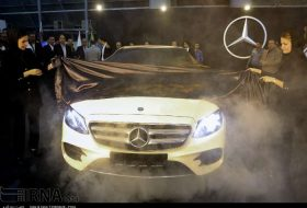 Int'l car exhibition kicks off in Shiraz