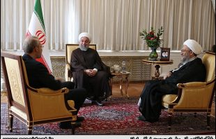 Iran's heads of three branches meet