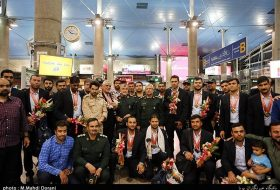 IRGC Ground Force team returns from Russia Intl. Army Games 2017