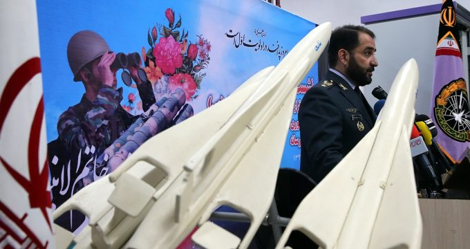 Iran unveils new air defense gear