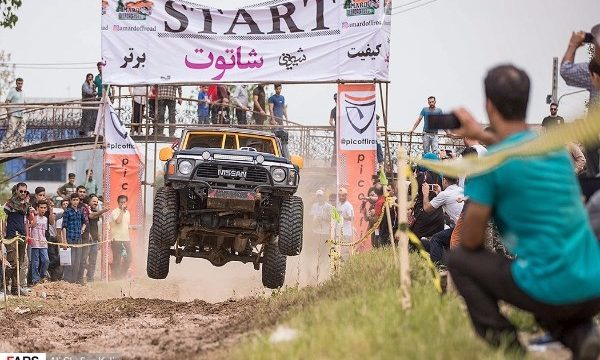 Iran's off-road competition held in Langarud