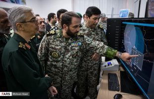 Army Chief Gen. Baqeri visits defense achievements expo.