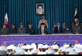 Ayat Khamenei attended graduation ceremony at Police Academy