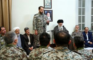 Ayat. Khamenei receives commanders and officials of IRI's Army