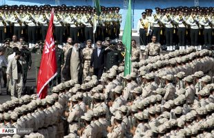 Ayatollah Khamenei attended graduation ceremony at Police Academy