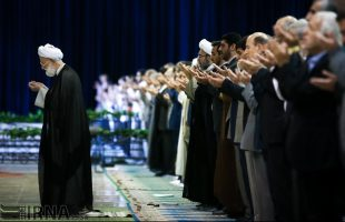 Eid al-Adha prayers in Tehran