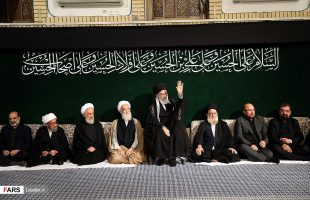 Leader attends the second Muharram mourning ceremony of 2017