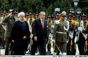 Erdogan arrives in Tehran