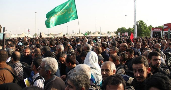 High number of Iranian pilgrims enter Iraq ahead of Arbaeen