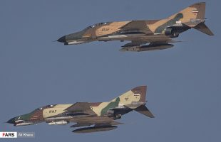 Iranian air force kicks off war game in central province
