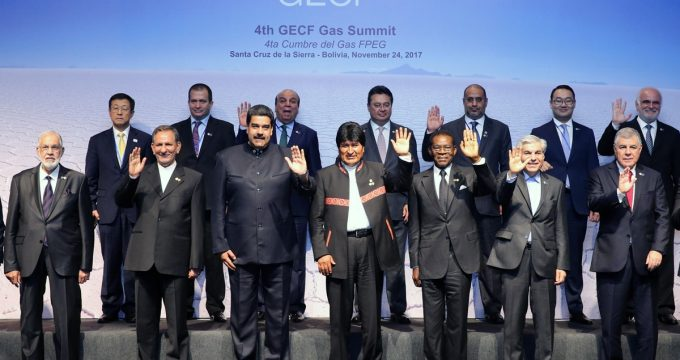 Eshaq Jahangiri attends GECF Summit