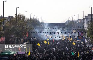 Huge crowds of people attend procession in Tehran on Arbaeen
