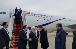 Rouhani arrives in Russian city of Sochi