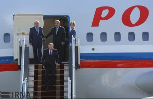 Russian President arrives in Tehran