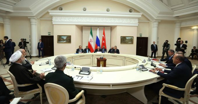 Summit held in Sochi for Syria talks